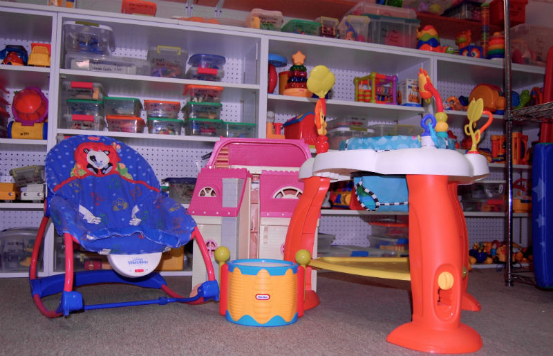 Family Strengths Network Toy Lending Library