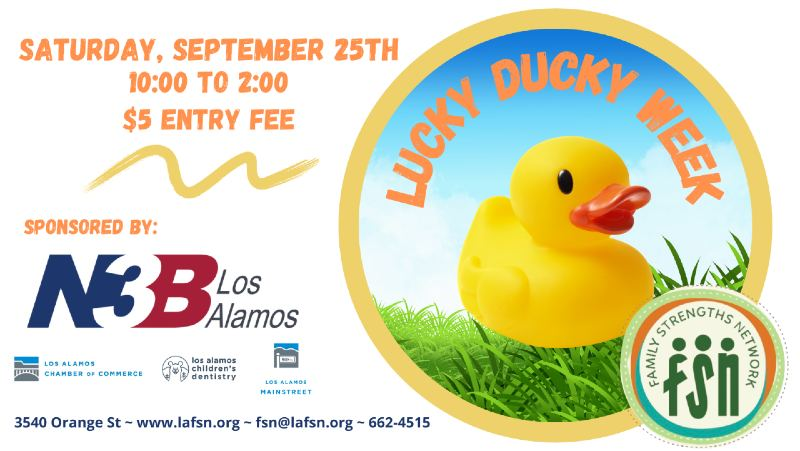 Family Strengths Network :: Lucky Ducky Day